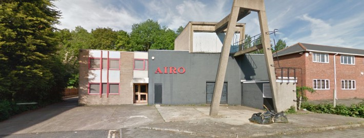 image of AIRO from front